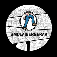 Spirit of Change, Spirit To Move On! #movement #mulai #mulaibergerak #indonesia #bergerak #logo