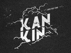 Kánkin© FREE FONT #font #fontfabric #free #fontfirma #typeface #cyrillic #typography