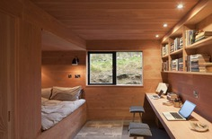 bedroom and office / Mary Arnold-Forster Architects