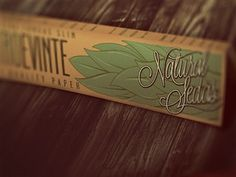Dribbble - Natural Sedas Rolling Papers by Von Haggen.