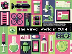 Wired World 2014 Preview #illustration
