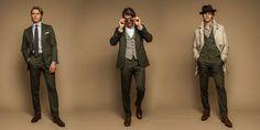 #mens #fashion #olive #suit