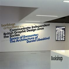 SI Classics: North × Barbican | September Industry #exhibition #design #graphic