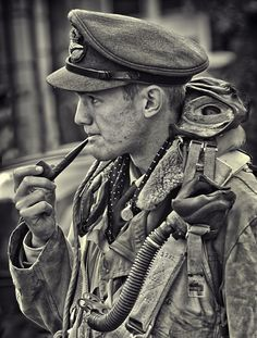 Twibfy #white #sepia #photo #wwii #black #pilot #vintage #and