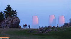 Simon Stålenhag Art Gallery #fi #sci #simon #painting #art #stlenhag