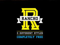 Rancho : Free Old West Style Font