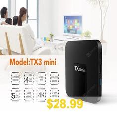 TX3 #Mini #Android #7.1.2 #Tv #Box #Smart #TV #H2.65 #IPTV #4K #Set #Top #Box #Media #Player