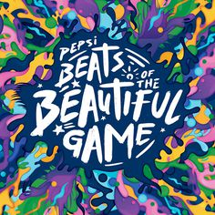 Pepsi Beats Of The Beautiful Game on Behance #pepsi #summer #football #soccer