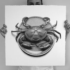 50 Foods Photorealistic Illustrations in 50 Days – Fubiz™ #illustration #realistic