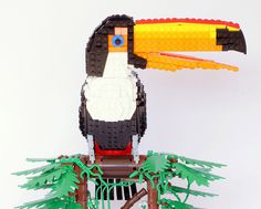 'tiago the toco toucan' #bird #lego #toucan