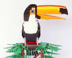 'tiago the toco toucan' #bird #lego #toucan