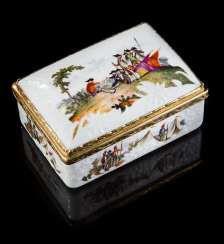 Fine Porcelain Tabattiere #porcelain
