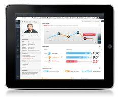 iMEData iPad Application on Behance