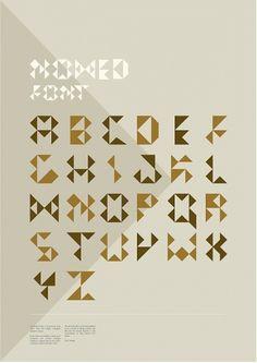 Nomed Font on Typography Served #type #font #nomed
