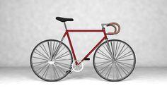 3D Bike created in C4D by Edward Vosper #3D #Bike #C4D #visual art #digital art