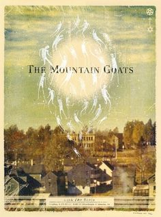 doe-eyed | posters #mountain #goats #gig #nyffeler #the #poster #band