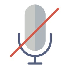 See more icon inspiration related to mute, record, sound, microphone, voice, muted, technology and interface on Flaticon.