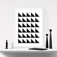 Geometric Wall Art #iloveprintable #iabstract #art
