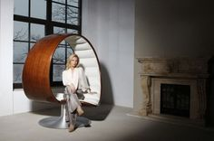 WANKEN - The Blog of Shelby White » The Hug Chair by Gabriella Asztalos #interior #chair #hug #modern