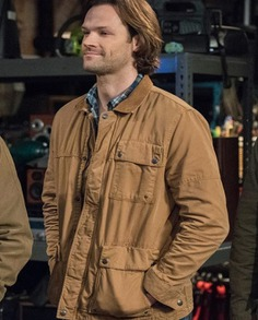 Supernatural Sam Winchester Cotton Jacket (2)