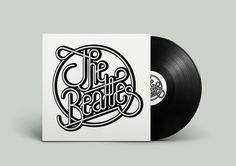 the beatles on Behance by Sergi Delgado #modular #beatles #lettering #geometry #packaging #london #design #song #graphic #the #cover #barcelona #music #vinil #typography