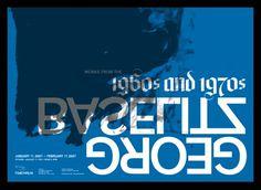 Baselitz_05.png (700×512) #baselitz #george #poster #art #type #typography