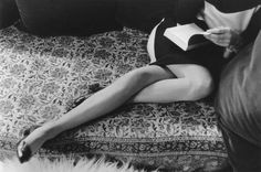 Henri Cartier-Bresson. Martine's Legs. 1967. #magnum #photography #henri #cartier-bresson