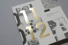 LCA Prospectus 2011/12 - Workshop Graphic Design & Print - Leeds, West Yorkshire #print #graphic design #design #workshop #foil stamp #leeds