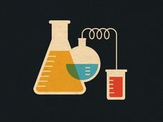 Dribbble - Droppin' Science by Curtis Jinkins #color #jenkins #curtis #illustration #science