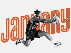 Rebranding the WNBA | ODC #identity #design #graphic #branding
