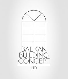 Balkan on the Behance Network #balkan #logo #building #concept