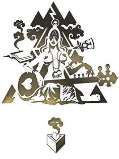 Dakinis #illustration #jasper #goodall #dakinis