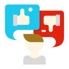 See more icon inspiration related to feedback, behavior, reaction, man, user, assessment, preference, chat bubble, customer service, customer, communications, masculine, social media, avatar, profile and people on Flaticon.