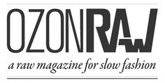 OZON Raw 'I've seen that face before', Fashion Issue #logo #ozon #typography
