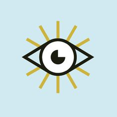 eye #pictogram #icon #design #graphic #icons #eye #sins #blue