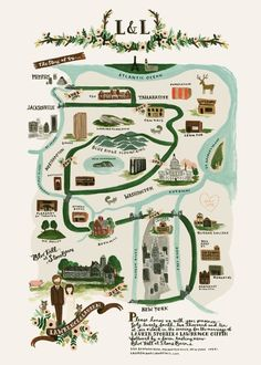 Tabitha Emma » Blog Archive » illustrated maps #illustration #maps