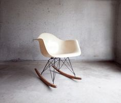 Eames Rocker #white #rocking #chair #shell #furniture #eames