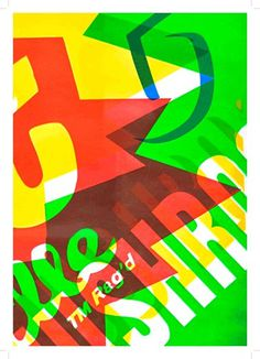 allan sommerville - typo/graphic posters #allan #typographic #posters #sommerville #overprint #typography