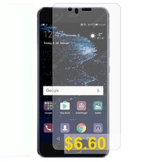 2pcs #Naxtop #Tempered #Glass #Screen #Film #for #HUAWEI #P10 #Plus #- #TRANSPARENT