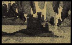 john192.jpg 700×434 píxeles #post #illustration #it #art #monster