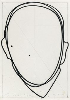 Baubauhaus. #line #head #person #outline