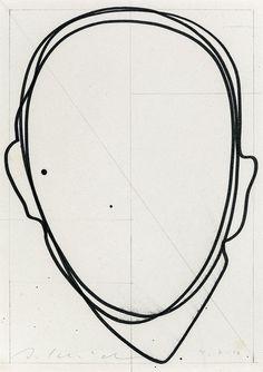 Baubauhaus. #line #head #person #outline