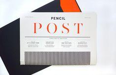 Newspaper Design for Pencil Agency by Chloe Galea #branding #print #design #graphic #newspaper