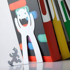 Mr. P Bookend #tech #flow #gadget #gift #ideas #cool