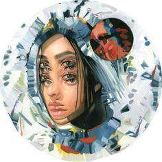 """Under the Blood moon "" by Alex Garant #art"