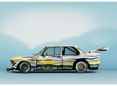 roy-lichtenstein-art-car-1977.jpg 800×589 pixels #bmw #car #art