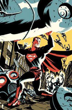 Michael Cho's sketchbook #illustration #superman