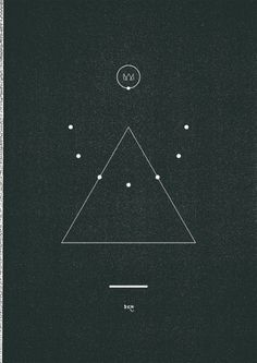 Trijangl△ #minimal #abstract #line #black #triangle