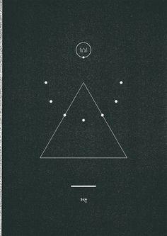 Trijangl△ #minimal #abstract #line #black #triangle