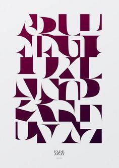 We Love Typographythis isn't happiness.™ #type